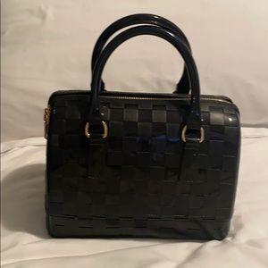 Black Checkered Jelly Bag
